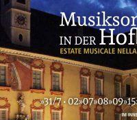 Musiksommer in der Hofburg 2020 – Estate musicale nella Hofburg 2020